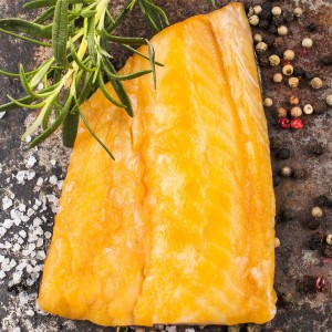 Палтус филе холодного копчения 0,5 кг.