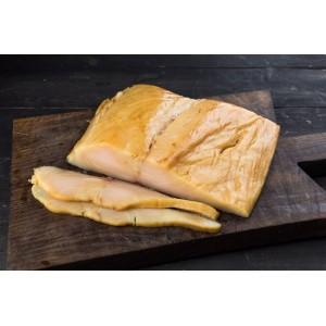 Масляная рыба филе холодного копчения 0,5 кг.